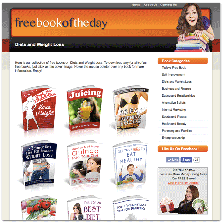 Your Website - Weight Loss And Diet Books